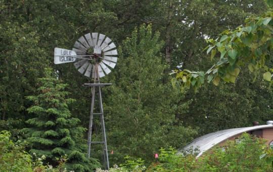 Lulu Island Sign