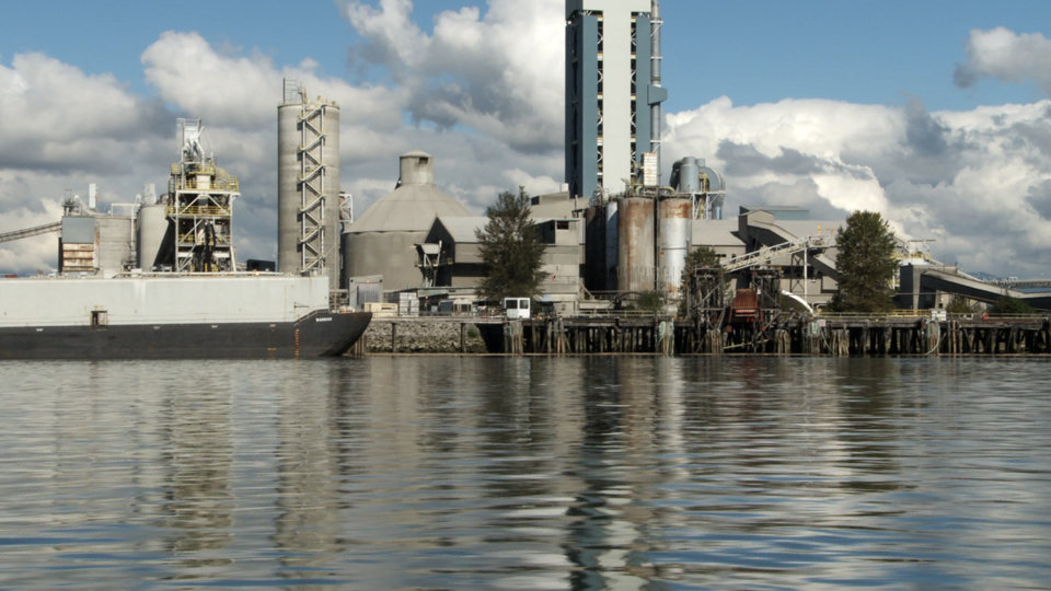 Island - Video Still Cement Factory