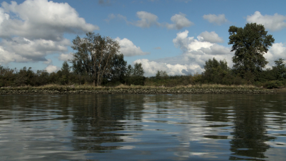 Island - Video Still Fraser River