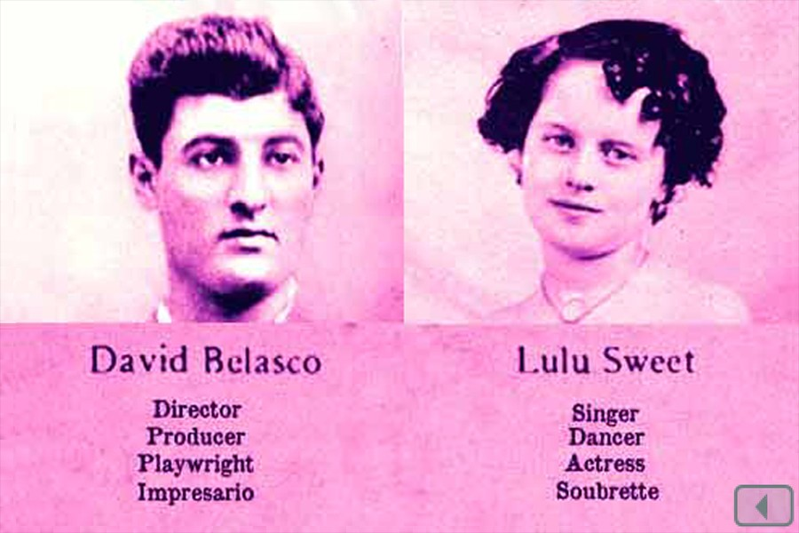 App Screenshot - Lulu Sweet & David Belasco