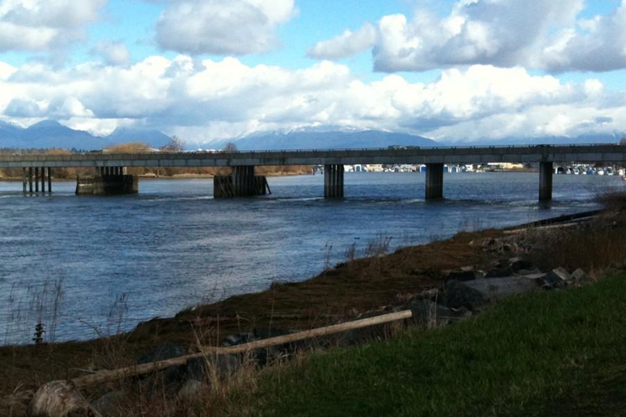 Hotspot on Fraser River